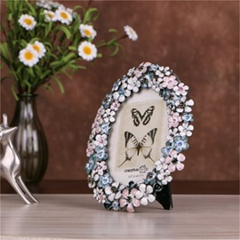 4*6 inch European Style Retro and Pastoral with Flowers Creative Photo Frame
