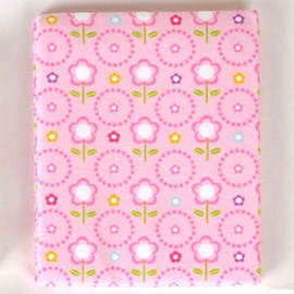100% Cotton Lovely Pink Flower Pattern Baby Crib Sheet