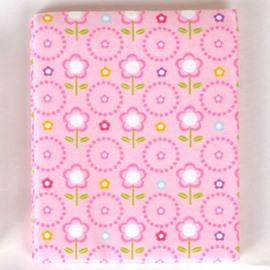 100% Cotton Lovely Pink Flower Pattern Baby Crib Sheet