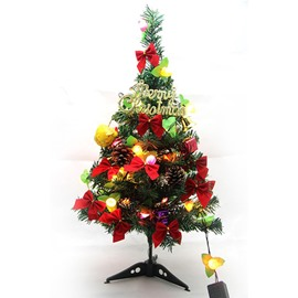 Luminous 60cm Christmas Tree with Led Light Festival Decoration