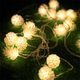 Cute Pine Cone Design 10m LED Christmas Light