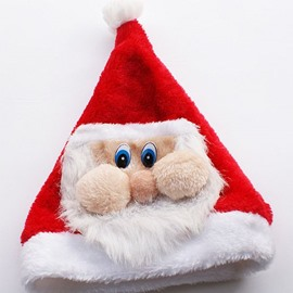 Cute Santa Claus Pattern Christmas Hat