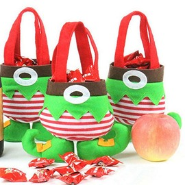 Festival Christmas Decoration Elf Pattern Candy Bag