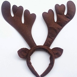 Vivid Festival Christmas Antler Patterns Head Hoop