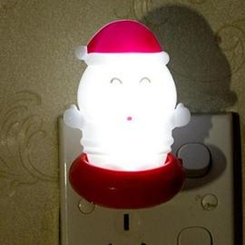 Super Cute Christmas Style Santa Claus Shape Light