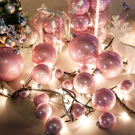 Beautiful Two Colors for Choose Christmas Tree Decoration Balls