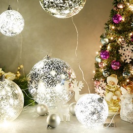 Festival Christmas Decoration Sparkle Christmas Light Ball