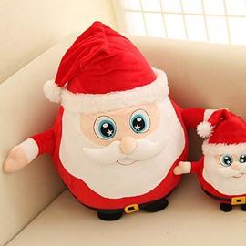 Christmas Style Creative Santa Claus Design Back Curshion