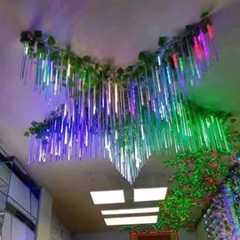 11.8 8 Tubes Meteor Shower Rain Lights Snow Falling for Christmas
