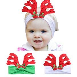 Christmas Deer Baby Decor Head Festival Belt