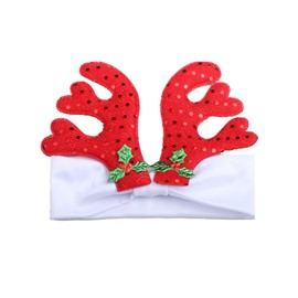 Christmas Deer Baby Decor Head Festival Belt
