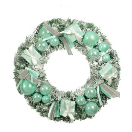 Pure and Fresh Mint with Soft Light Christmas Decoration Garland