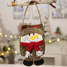 Good Texture Christmas Cute Novel 3D Tote bag