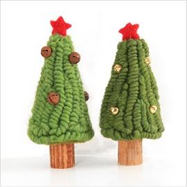 Rich Texture Felt Bell Christmas Tree Ornament