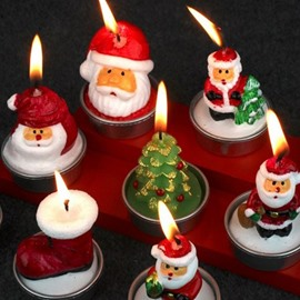 Come and Pick One from These 6 Beautifully Crafted Christmas Candle.