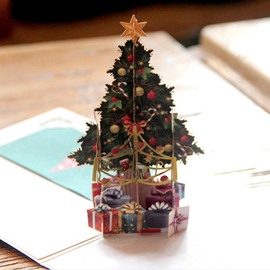 3D Exquisite Christmas Tree Greeting Card