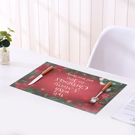 Essential Multiple Patterns Simple Christmas PVC Placement