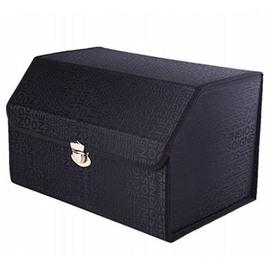 Classic Black Design Durable High Capacity Muti-Use Universal Trunk Organizer
