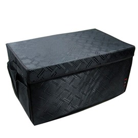 Classic Black Design Super High Capacity And Foldable Trunk Organizer
