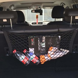 New Front And Rear Backseat Muti-Use High Capacity Net Rope Simple Car Organizer