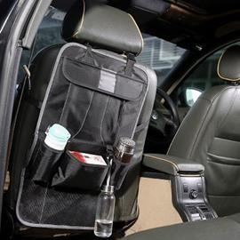 Waterproof Easy Install Anti-Kicking Hanging Car Chair-Back Organizer
