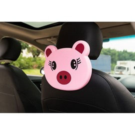 Cute Cartoon Themed Piggy Face Seat Back Drink Holder For Kids (Single)