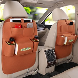 Combining Classical And Bright Style High Rave Reviews Backseat Organizer Pair