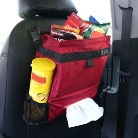 Magic Red Fashion Medium High Capacity Hanging Car Backseat Organizer