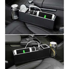 Multifunctional USB Cup Holder Coin Collector Storage Box