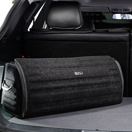 Spacious And Heavy Duty High Capacity Designer Car Trunk Organizer