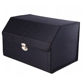 Classic Black Design Durable High Capacity Muti-Use Universal Trunk Organizer
