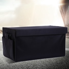 Classic Black Color And High Capacity Trunk Organizer