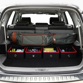 Luxuriously Designed High Capacity Single Piece Car Trunk Organizer Drawer