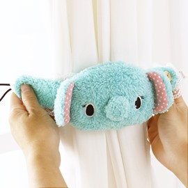 Cute Blue Koala Design Buckle Window Curtain Tieback