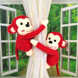 Lovely and Romantic Plush Cartoon Bears One Pair Curtain Tie Backs