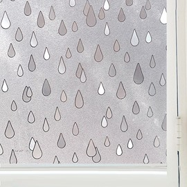 Raindrop Window Film Static Sticker No-glue for room
