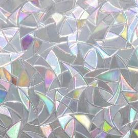 3D Static Decorative Privacy No Glue Window Films for Glass