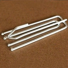 Stainless Steel Sliver Curtain Hooks