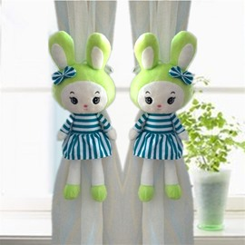 Decorative and Creative Plush Cartoon Rabbit Lovely Princess Style Curtain Tie Backs