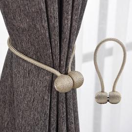 Curtain Tiebacks Strong Magnetic Holdbacks,Drapes Holders/1Pair*15.7