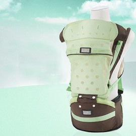 Comfortable Breathable Multi-Functional Green Color Baby Carrier
