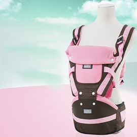 Super Comfortable Multi-Functional Baby Carrier in Lovely Pink