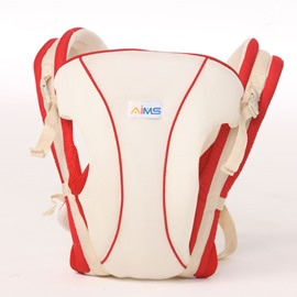 Mesh Cloth Sporty Style White Baby Sling Carrier
