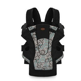 Four Position Nylon Simple Style Black Baby Sling Carrier
