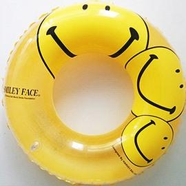 Happy Smiley Faces Swim Ring for Children
