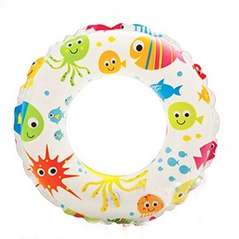 Colorful Fish Pattern Children Swim Ring