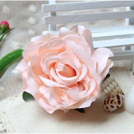 Lifelike Rose Hair Flower with Hairpin