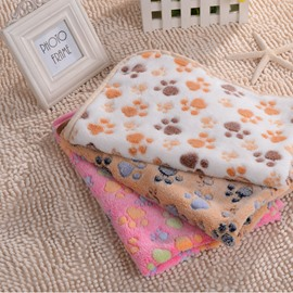 Warm Pattern Pets Bed Cove Blanket For Small Dogs&Cats
