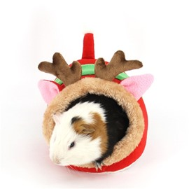 Mini Pet House Guinea Pig Chihuahua Warm for Winter