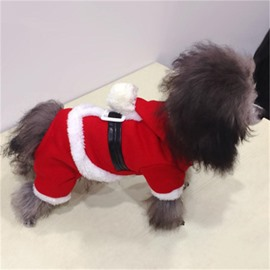 Dog Costume Christmas Pet Clothes Winter Hoodie Coat for Dog